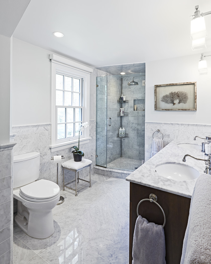 Neutral Color Master Bathroom